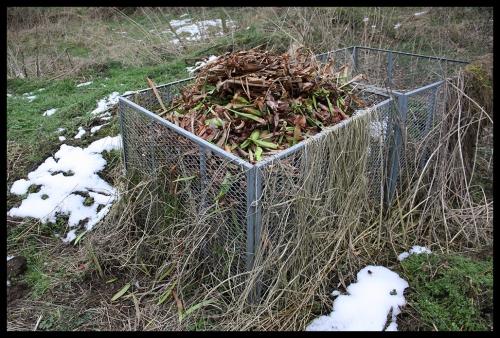 nachher Komposthaufen